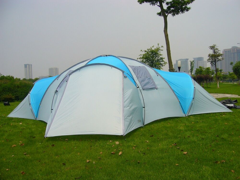 """Huge 8-12 Person """" ROCKPORT"""" 4 ROOM LARGE FAMILY CAMPING ..."""