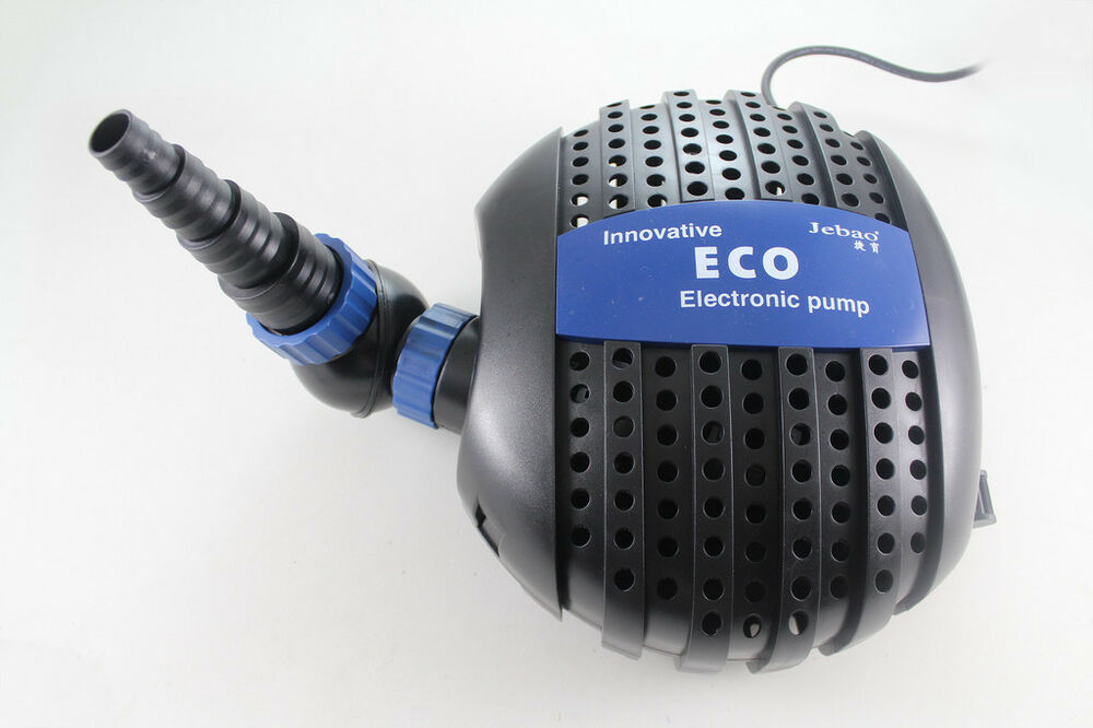 Jebao eco garden koi pond pump 3500 5000 6000 8000 10000 for Koi fish pond water pump