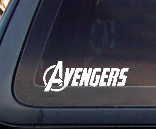 "Truck Stickers For Back Window >> Avengers Avenger Marvel Car Decal / Sticker - 6.5"" (602-1) 