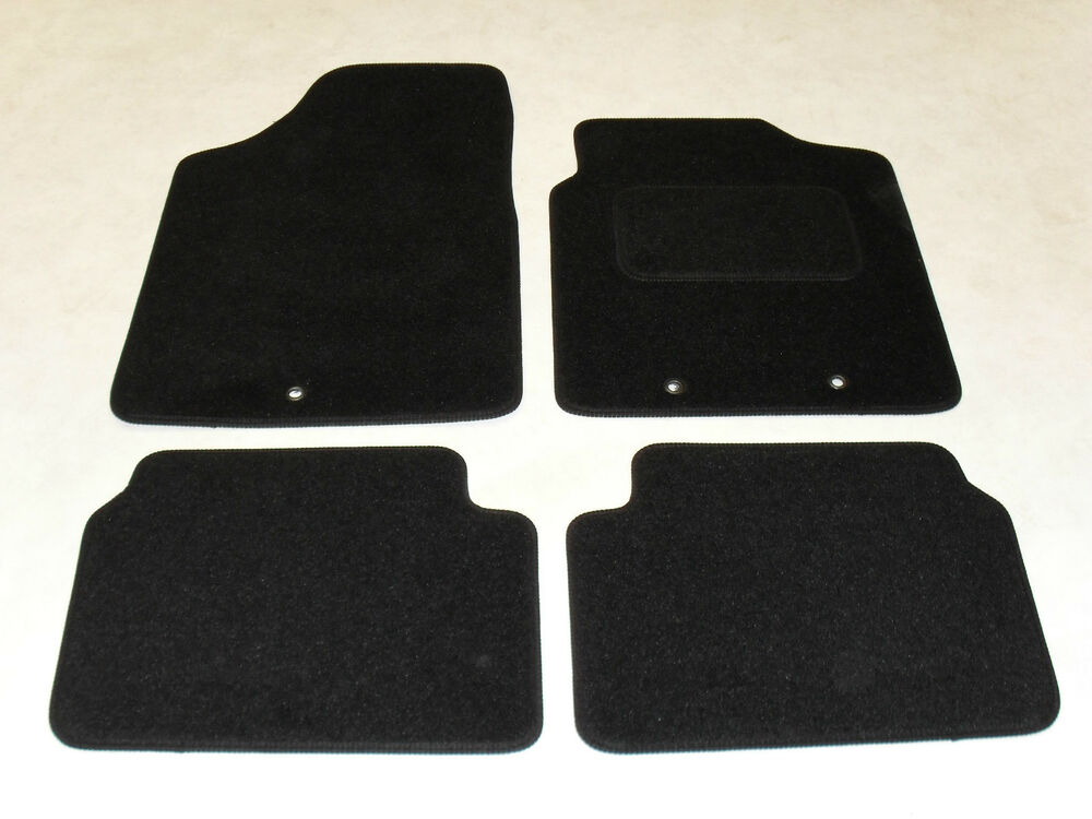 Hyundai I10 2009 14 Fully Tailored Deluxe Car Mats In