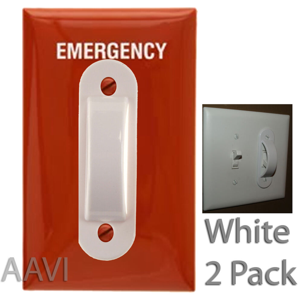 Electrical Emergency Home Wall Kid Light Switch Safety Guard