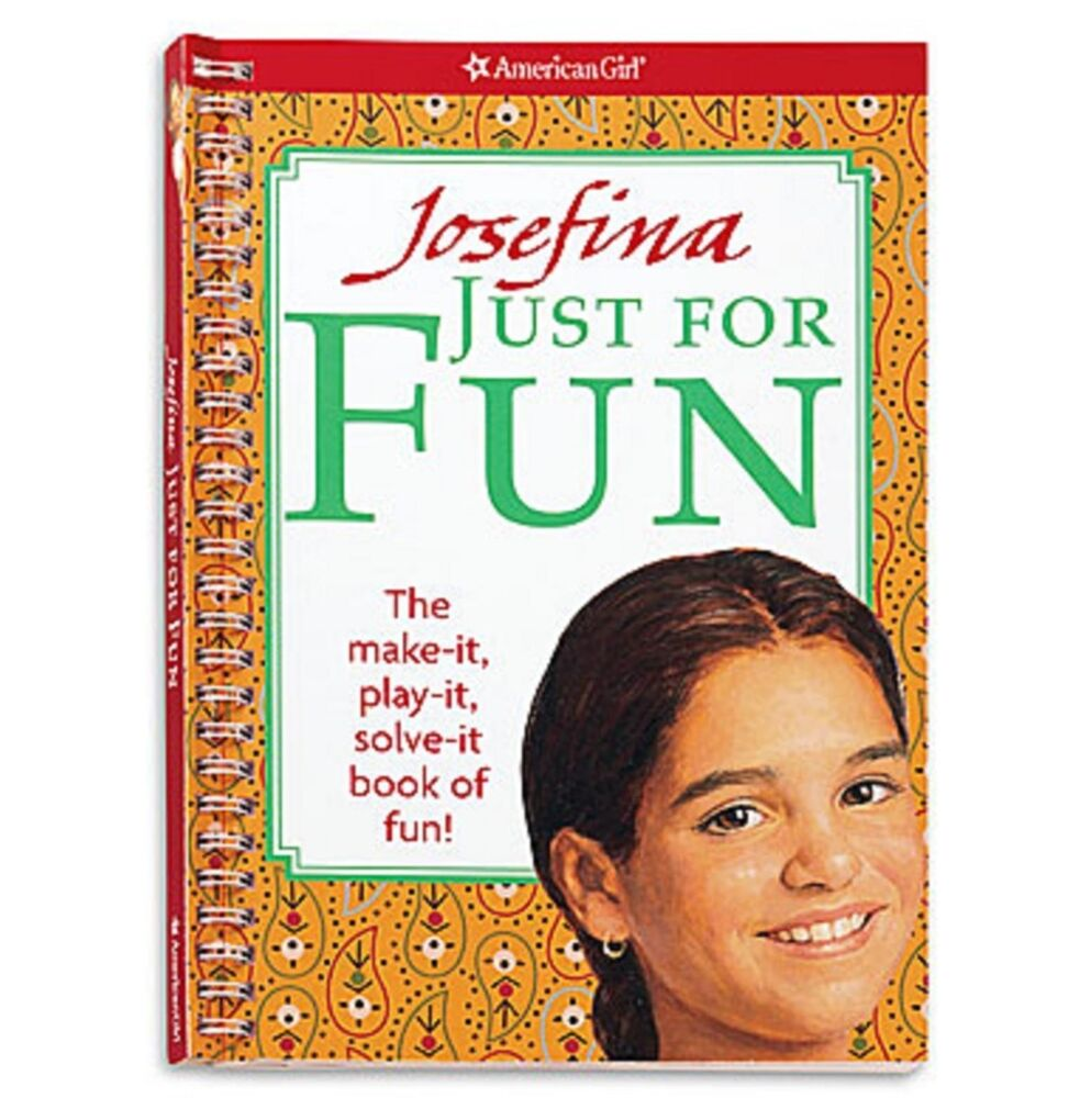 josefina just for fun american girl games crafts puzzles activities sudoku new 1593696035 ebay. Black Bedroom Furniture Sets. Home Design Ideas