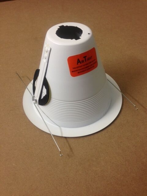 6 Quot Inch Air Tight Baffle Cone White For Recessed Can Light