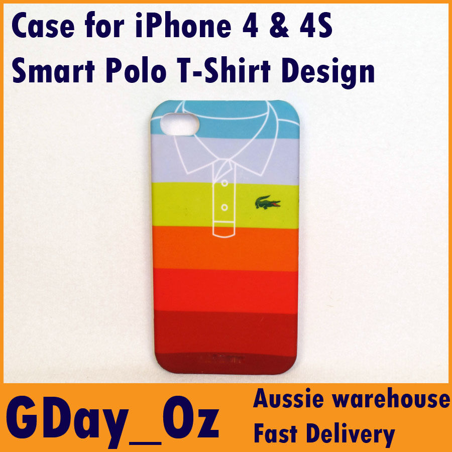Smart Looking Polo T Shirt Design Hard Protective Case