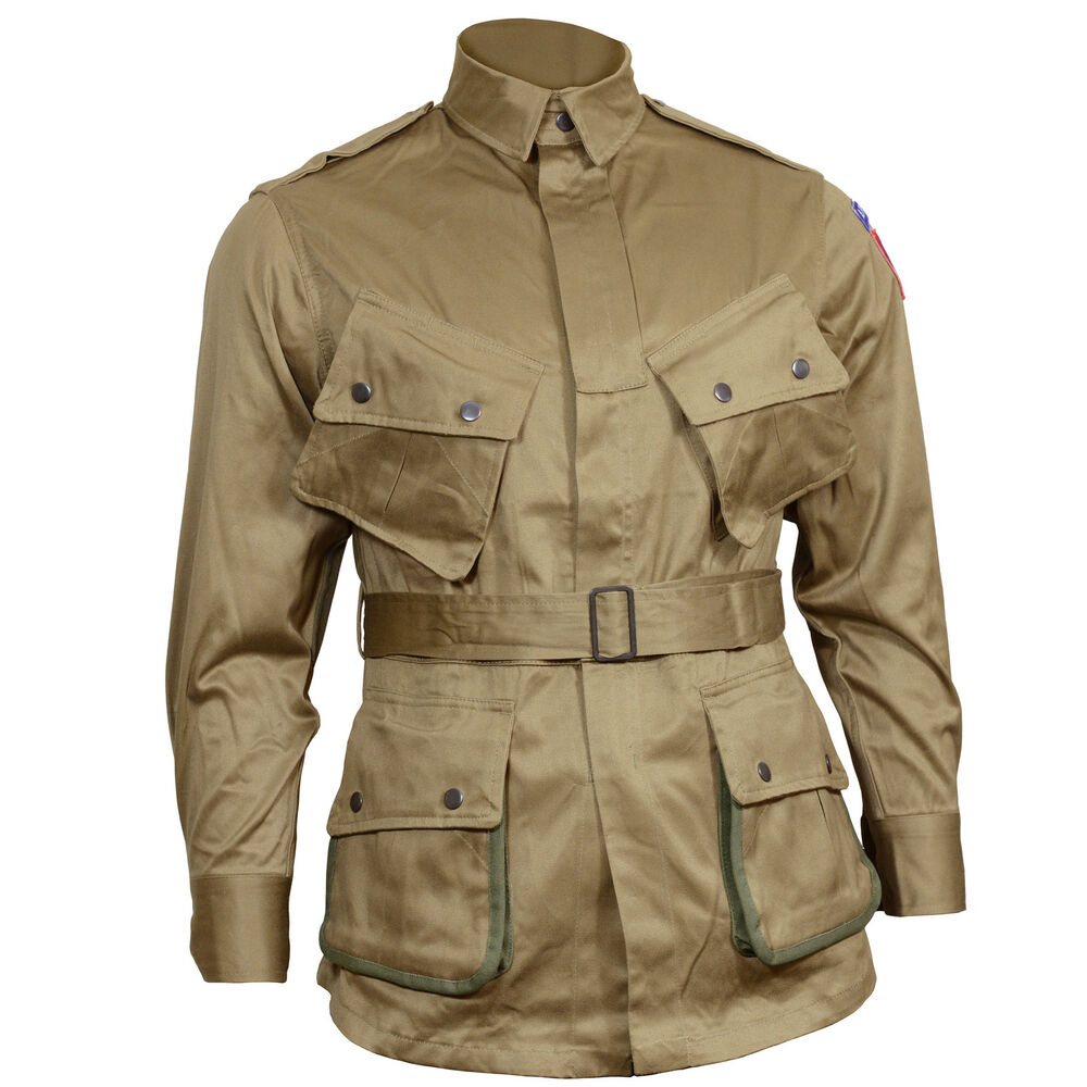 Us American Airborne M42 M1942 Para Jacket All Sizes Repro