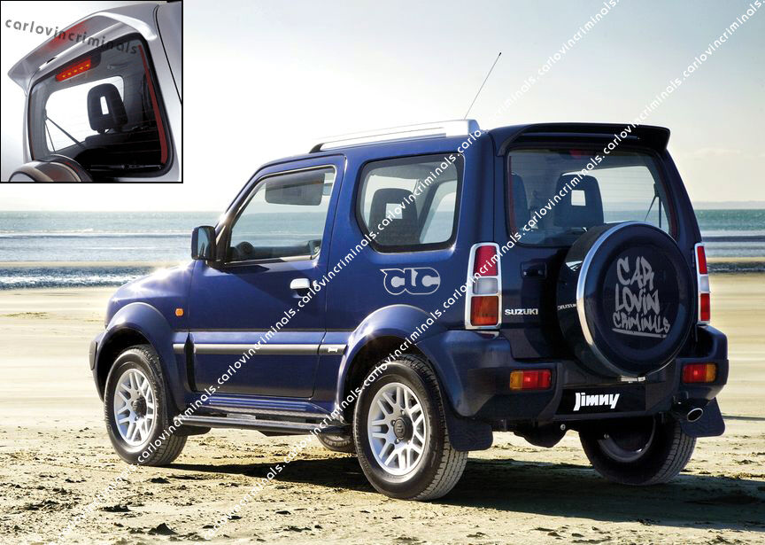 suzuki jimny spoiler ebay. Black Bedroom Furniture Sets. Home Design Ideas