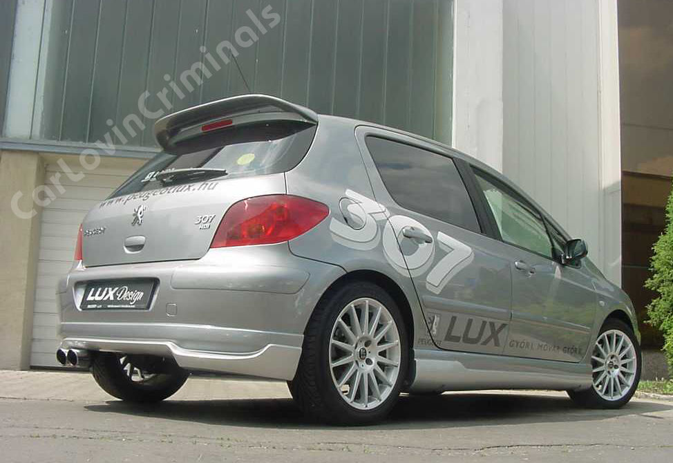 peugeot 307 gti spoiler ebay. Black Bedroom Furniture Sets. Home Design Ideas