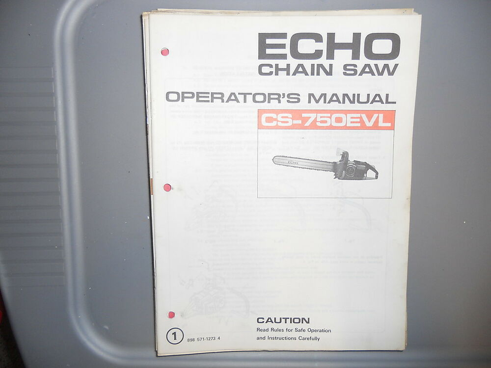echo cs 670 chainsaw manual