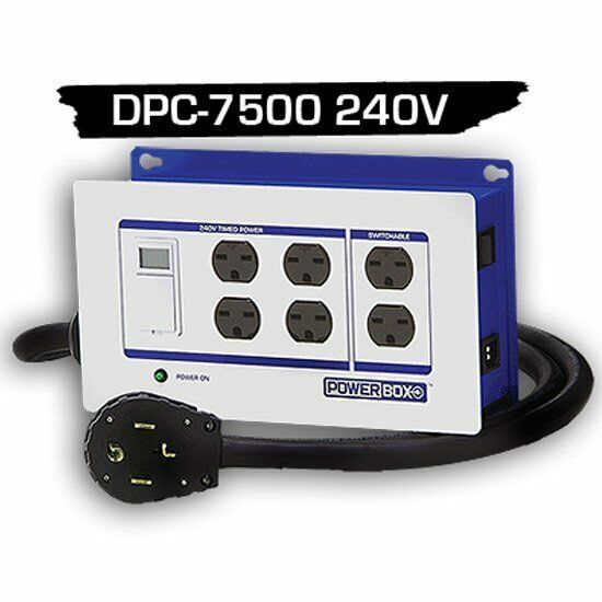 Light Controller With Timer: Powerbox DPC 7500 240v Lighting Controller