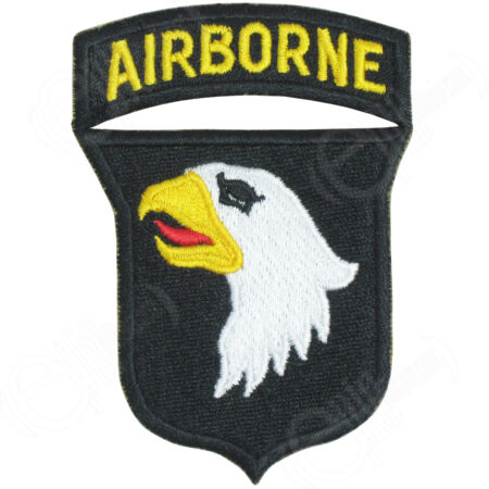 img-101st Airborne - Screaming Eagles WW2 Repro Badge Patch Sleeve Shoulder Arm New