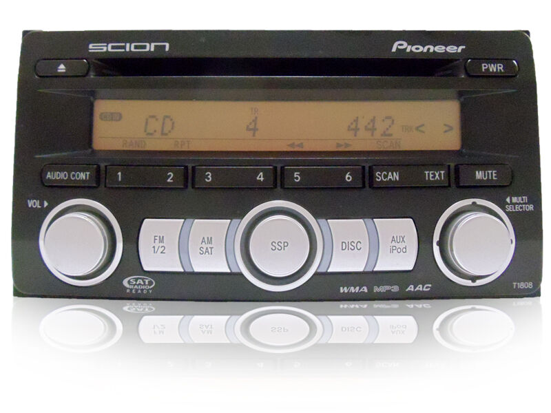 04 05 06 07 08 09 scion xa xb xd tc radio stereo cd player. Black Bedroom Furniture Sets. Home Design Ideas