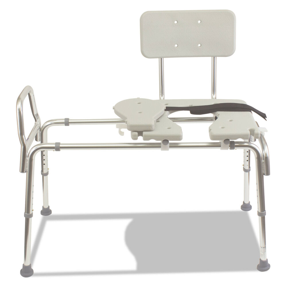Dmi 1734 Sliding Transfer Bench W 400 Lb Capacity Ebay
