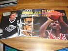LOT OF 3 1ST ISSUE BECKETTS FOOTBALL+HOCKEY+BASKETBALL CASE FRESH