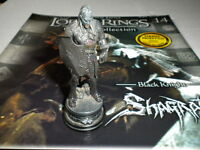 Eaglemoss Lord Of The Rings Chess Set 1 - Issue 14 Shagrat - black knight