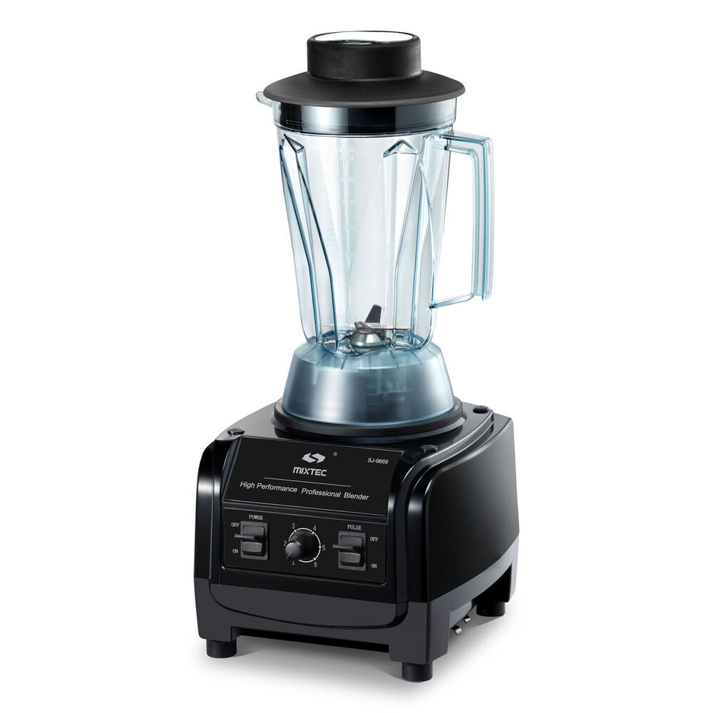 Mixtec Heavy Duty Blender With Tamper 3hp Motor 64 Oz Up