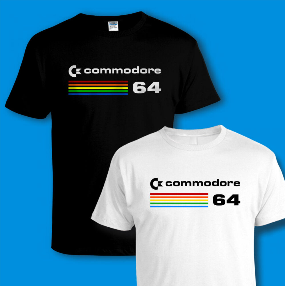Commodore 64 c64 computer t shirt retro 80s video pc for Game t shirts uk