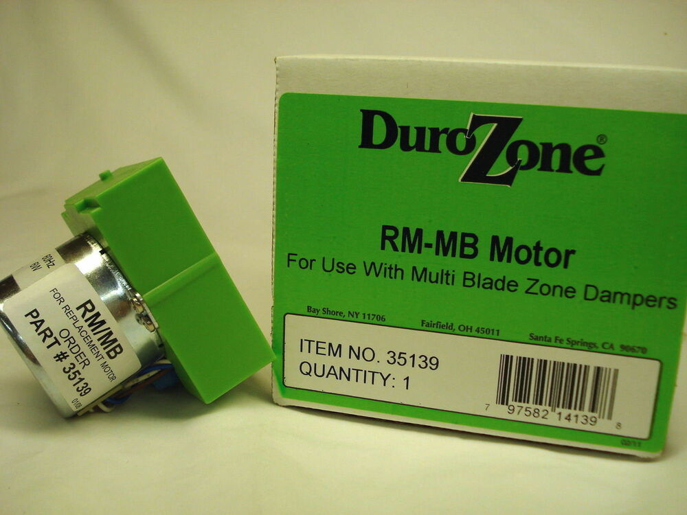 durozone rm mb replacement damper motor 35139 ebay