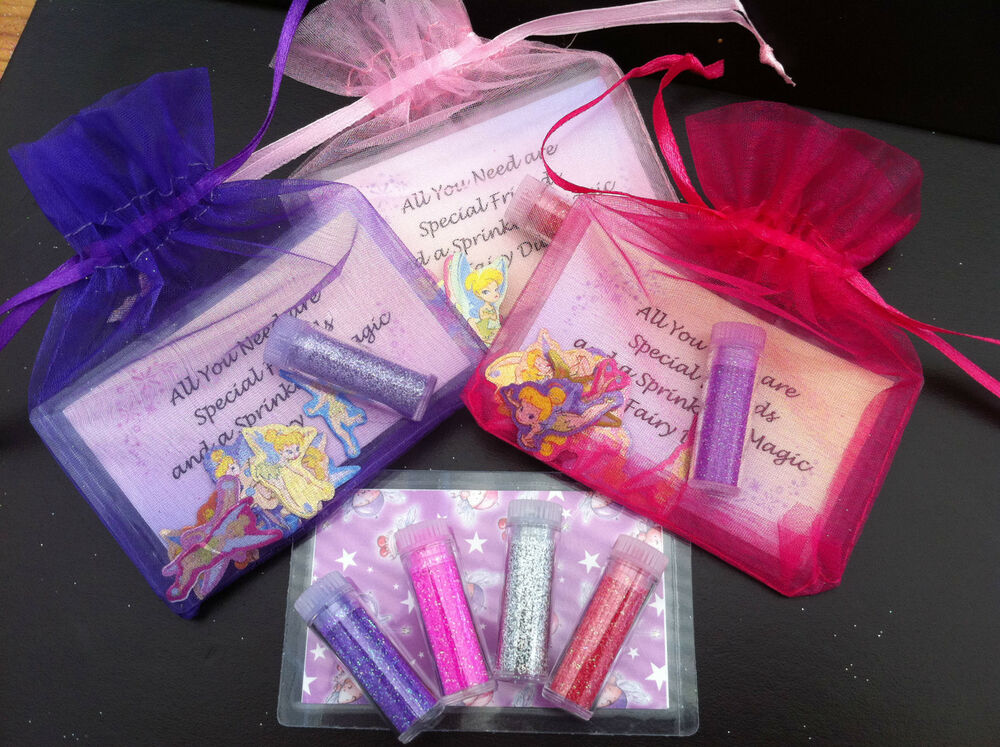 Fairy Dust with Tinkerbell Stickers PERFECT PARTY BAG GIFT ...