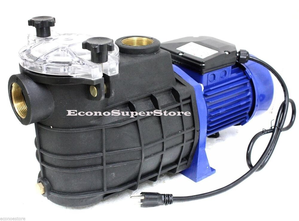 110v 1 5hp 1 5 Npt Swimming Pool Spa Water Pump W