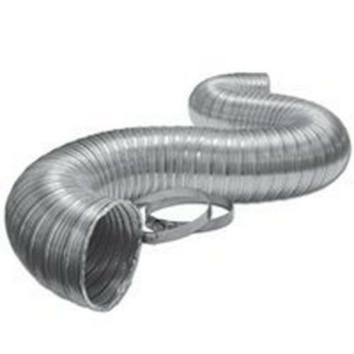 Flexible Duct Hose : New lambro l quot foot aluminum flex duct pipe dryer