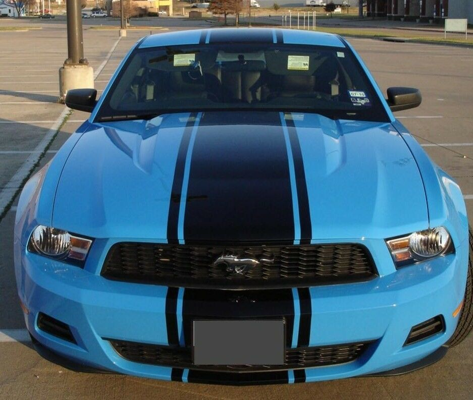 2010 2011 2012 2013 2014 Mustang 20 Quot Wide Center Stripe
