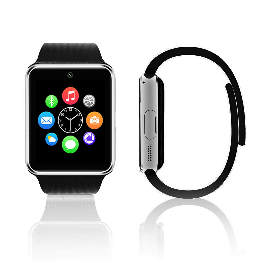 unlocked stylish touch screen gsm watch cell phone at t t mobile ebay. Black Bedroom Furniture Sets. Home Design Ideas