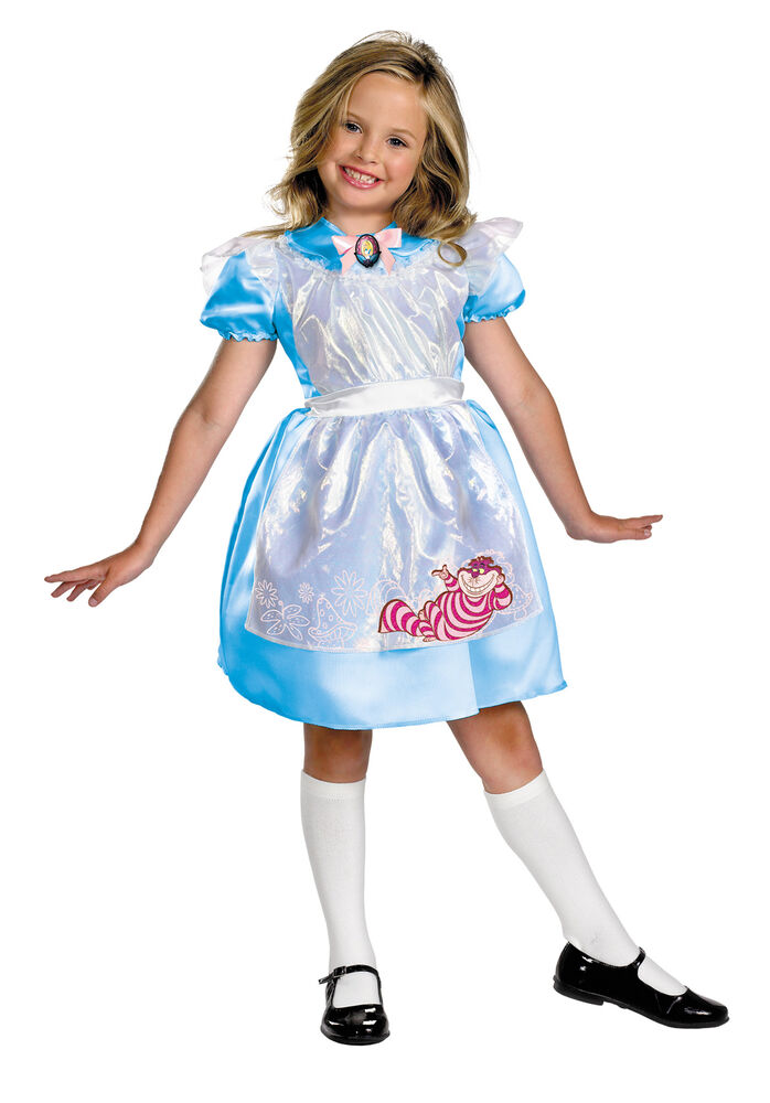 DISNEY ALICE IN WONDERLAND MOVIE CLASSIC CHILD COSTUME ...