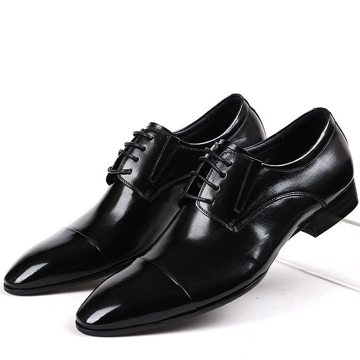 fulinken leather classic cap toe oxford lace up formal