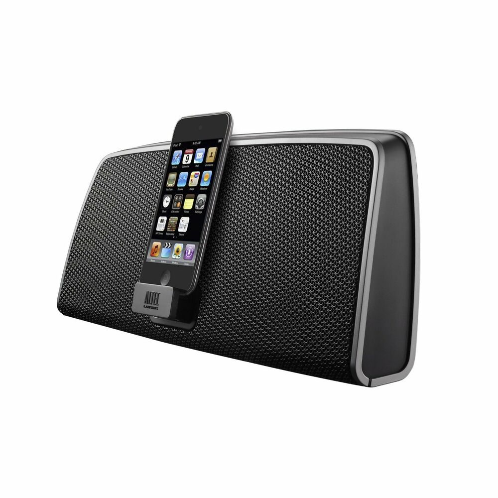 altec lansing imt630 portable ipod touch iphone 4 4s. Black Bedroom Furniture Sets. Home Design Ideas