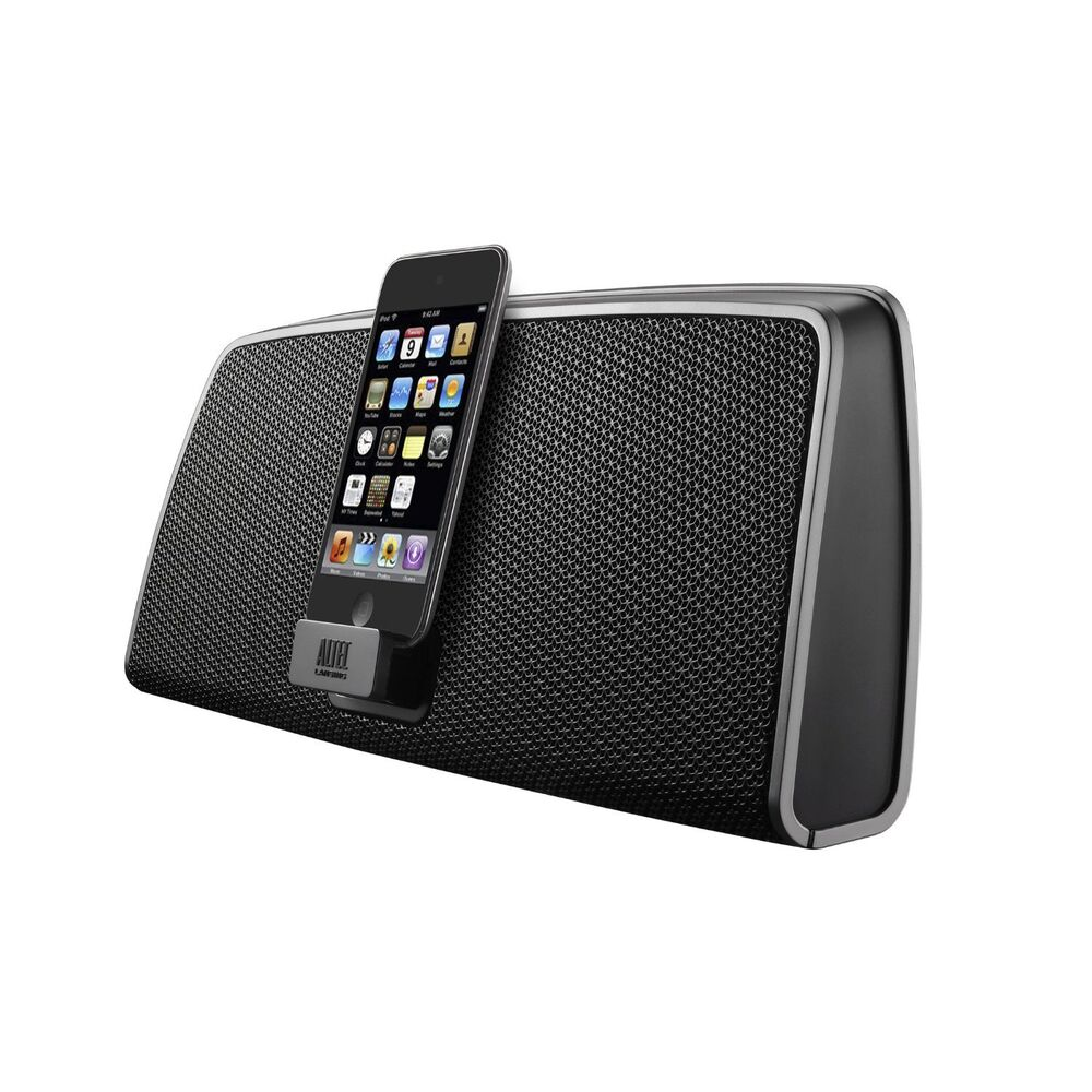 altec lansing imt630 portable ipod touch iphone 4 4s speaker docking station ebay. Black Bedroom Furniture Sets. Home Design Ideas
