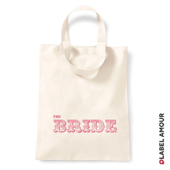 Favour Keepsake Gift Canvas Tote Bag
