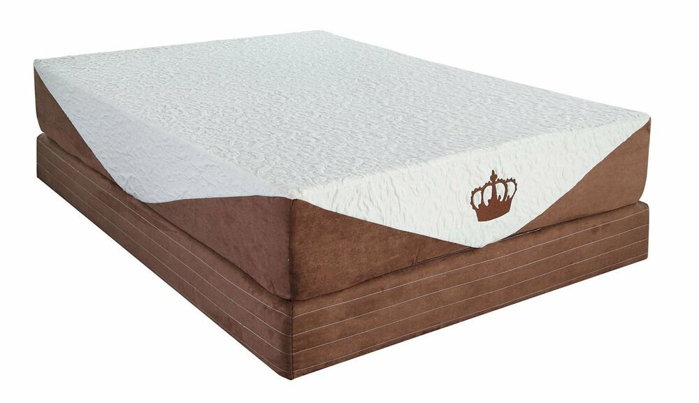 "Cool Breeze 10"" Queen HD GEL Memory Foam Mattress Beds"