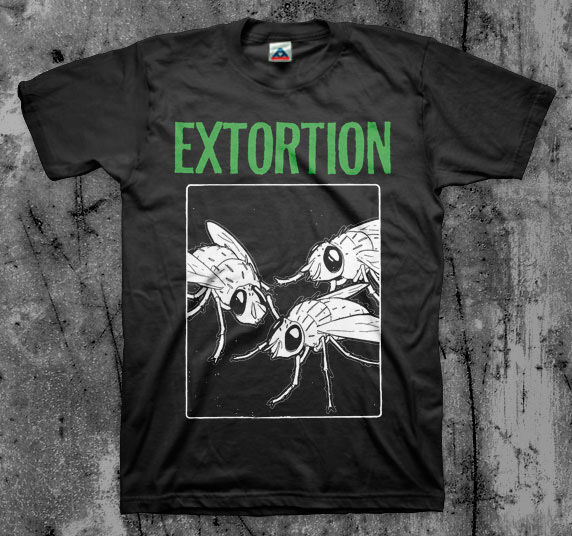 EXTORTION 'Infested' T shirt (Spazz Infest Drop Dead) | eBay Drop Dead Clothing History