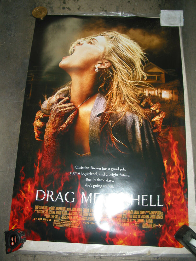 drag me to hell original us onesheet movie poster