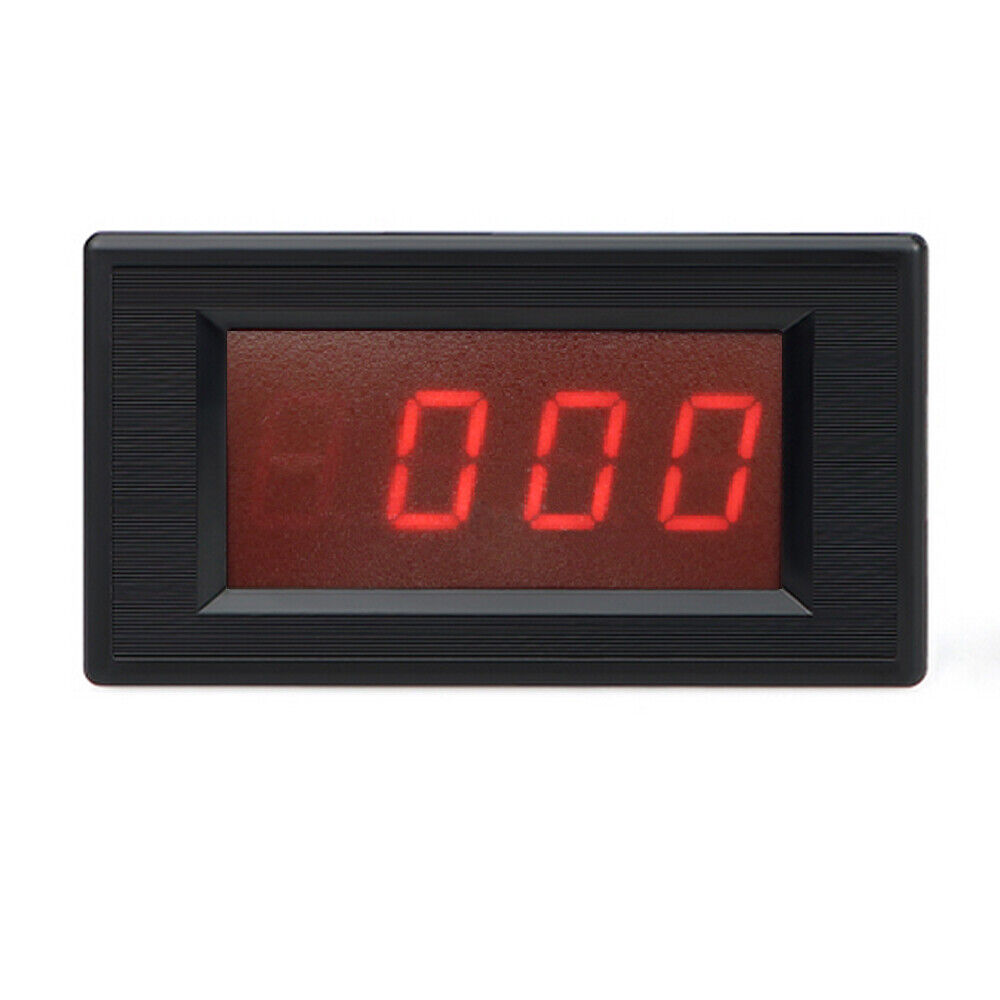 Ac Panel Meters : Ac v red led digital volt voltmeter panel meter ebay