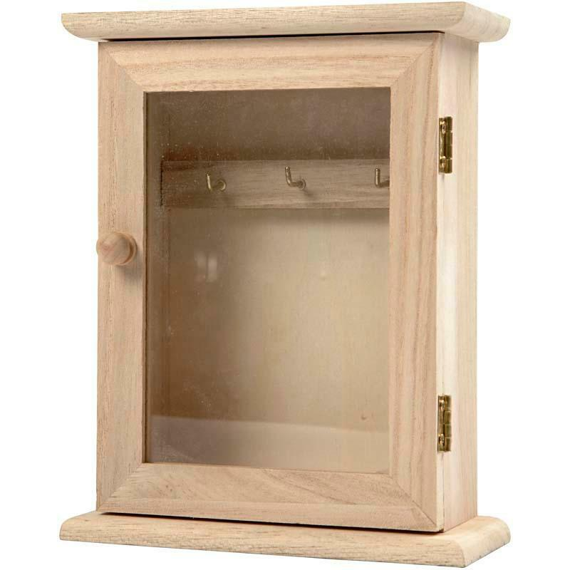 hanging storage cabinets wooden key hanging cabinet hooks storage craft decorate 16200