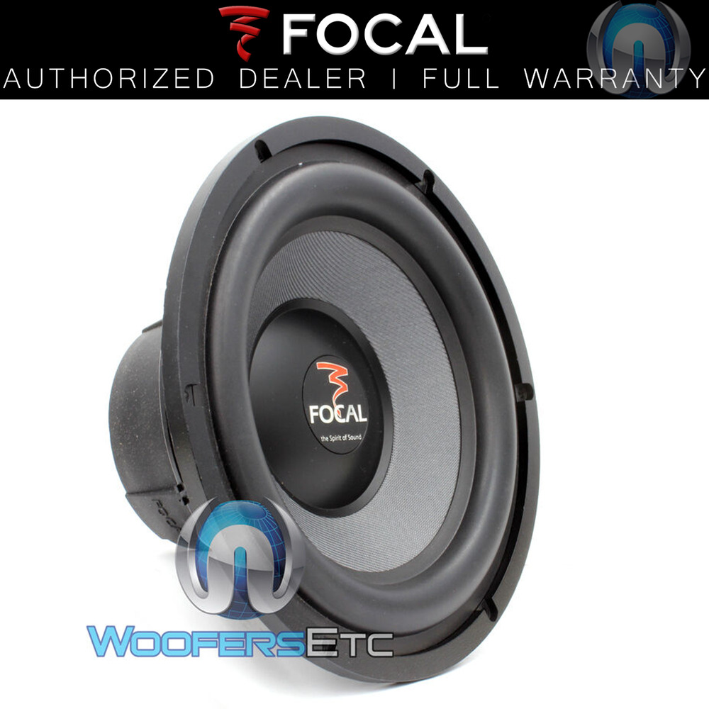 focal 27a sub 11 access series car audio subwoofer speaker clean clear bass new ebay. Black Bedroom Furniture Sets. Home Design Ideas