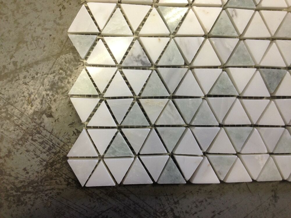 Marble Carrera Amp Ming Green Honeycomb Polished Mosaic Tile
