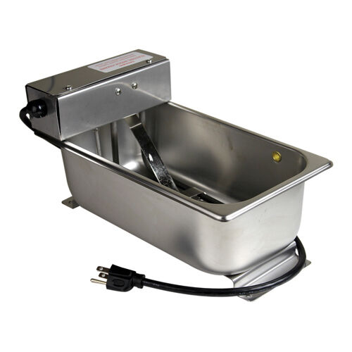 Condensate drain pan v w qt stainless steel