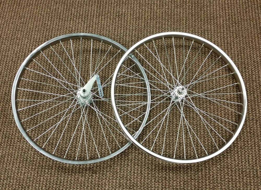 Bicycle wheels fit schwinn phantom panther balloon tire for Bicycle rims