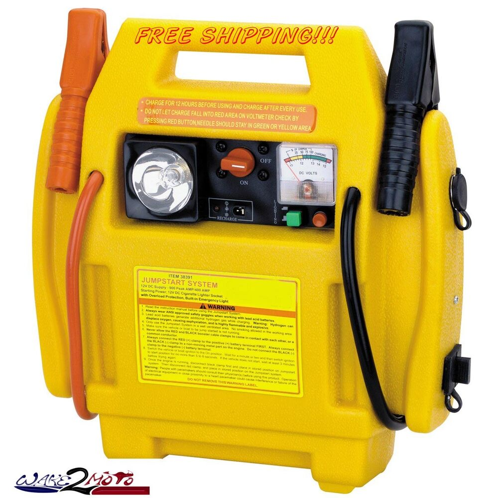 jump start battery 12 v battery jump starter marine boat car auto power 11108