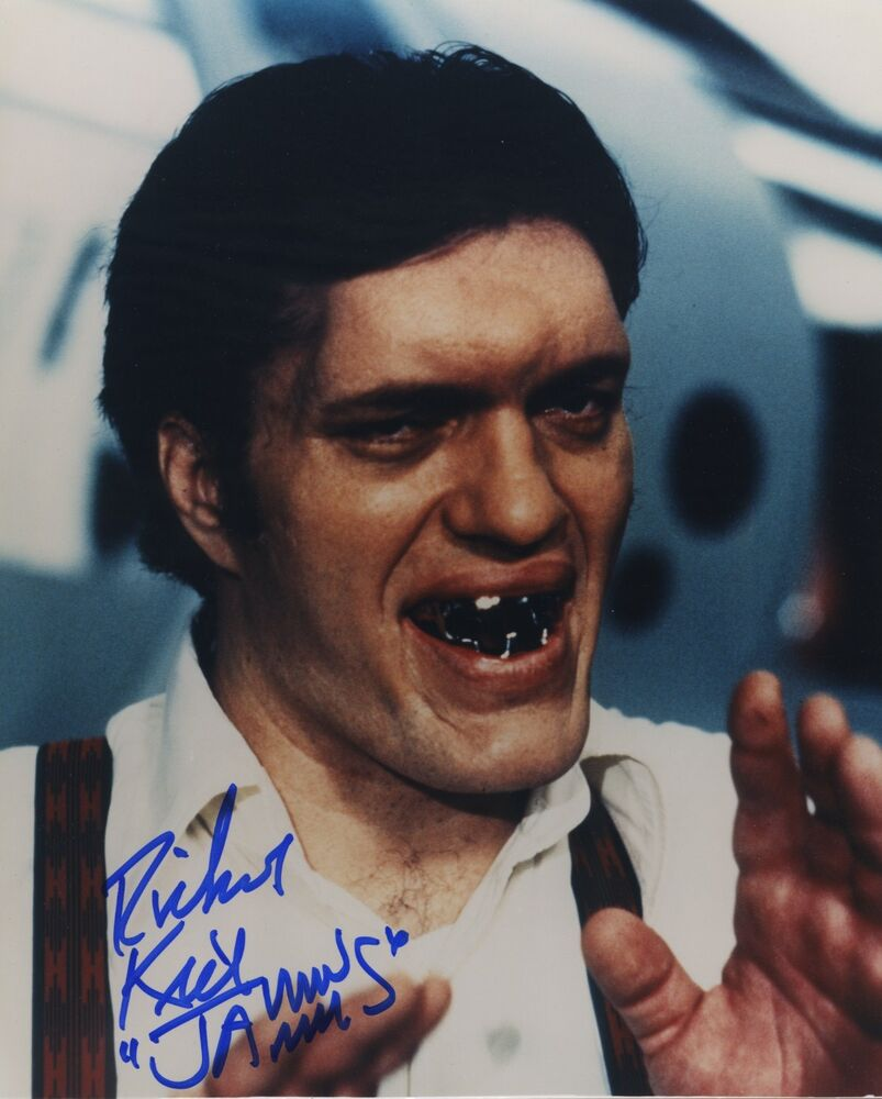 Richard Kiel Signed Autographed Color Photo Jaws James Bond 007 Villian Ebay