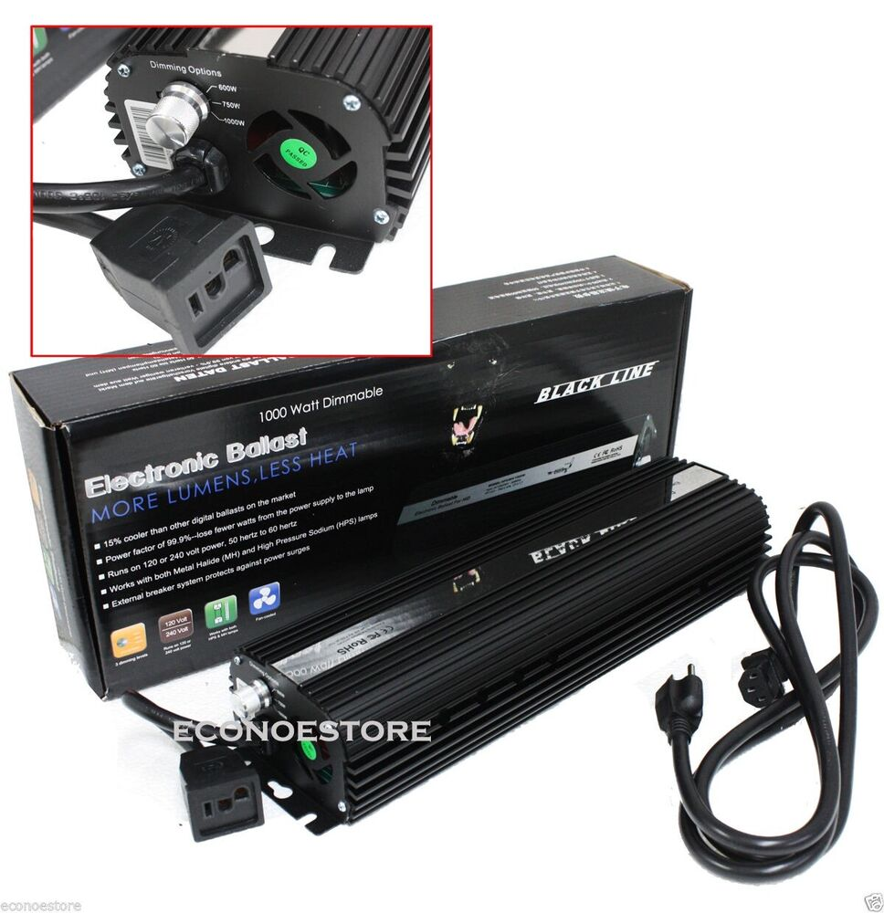 1000w mh hps hydroponic dimmable digital ballast 1000 750. Black Bedroom Furniture Sets. Home Design Ideas