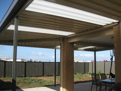 Patio Carport Pergola Insulated Solarspan Diy Kit | Ebay