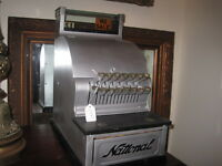 Antique National Cash Register, Candy Store style