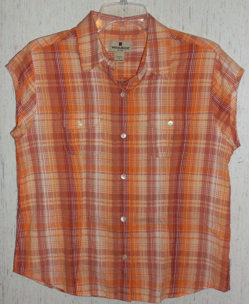 Womens Plaid Blouse 45