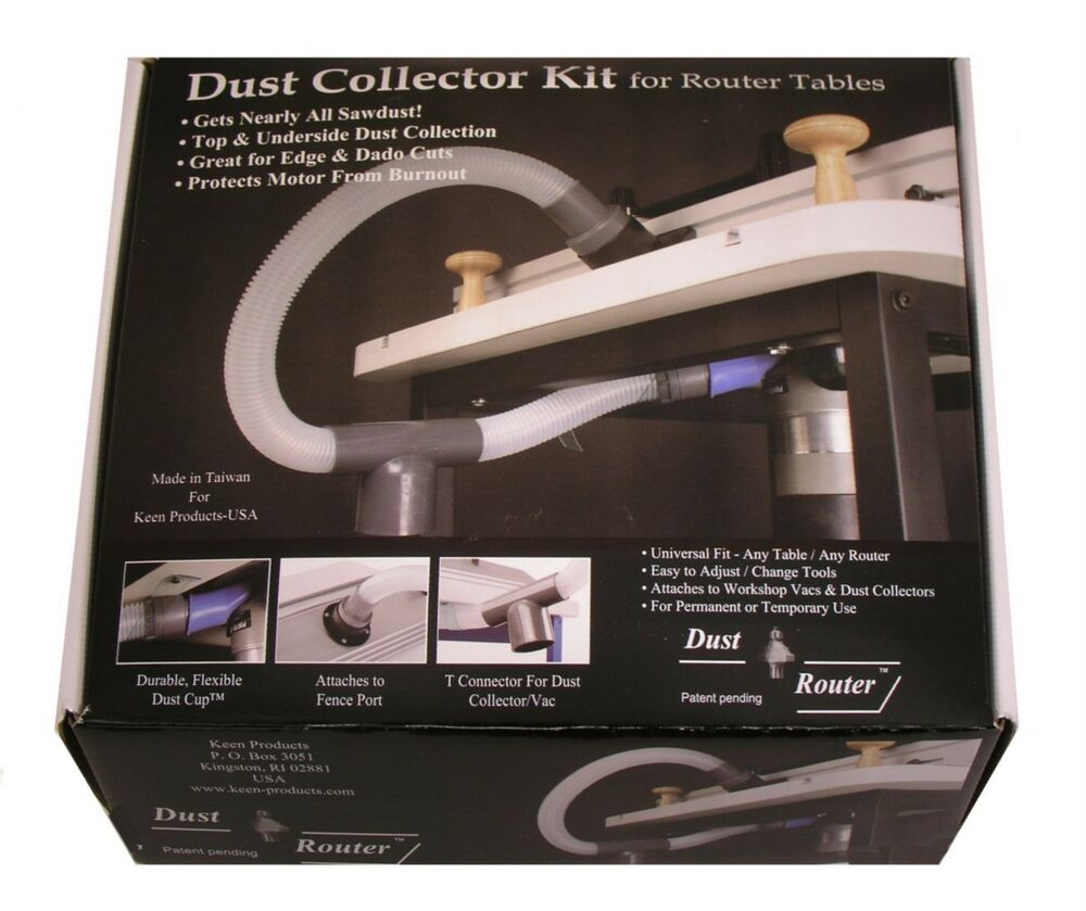 Router Table Dust Collection Collector System For Fence