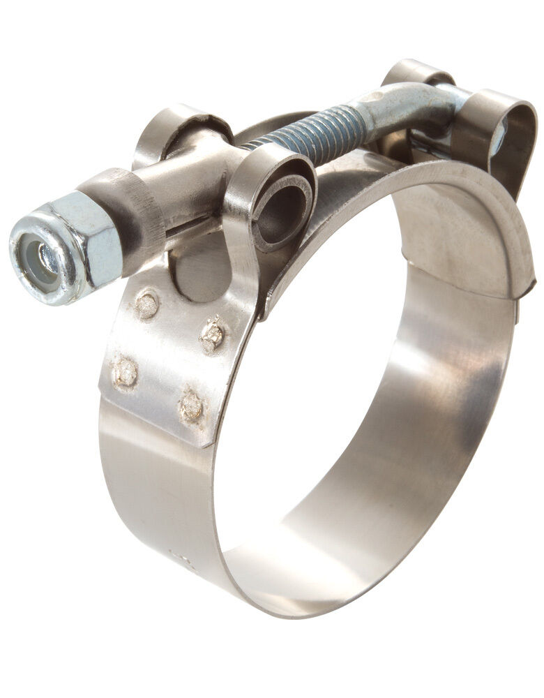 Quot ss t bolt turbo clamp silicon