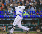 Jhonny Peralta Detroit Tigers Home Run MLB LICENSED Picture 8X10 BASEBALL PHOTO