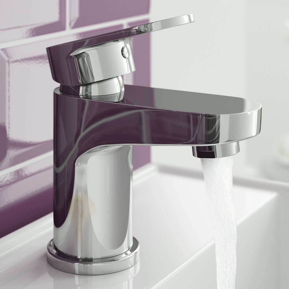mixer taps for bathroom sink modern chrome mono cloakroom sink basin mixer tap tb72 ebay 23788 | s l1000